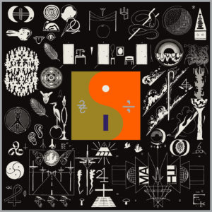 Bon Iver - 22, A Million album cover