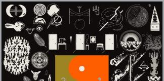 Bon Iver - 22, A Million album cover