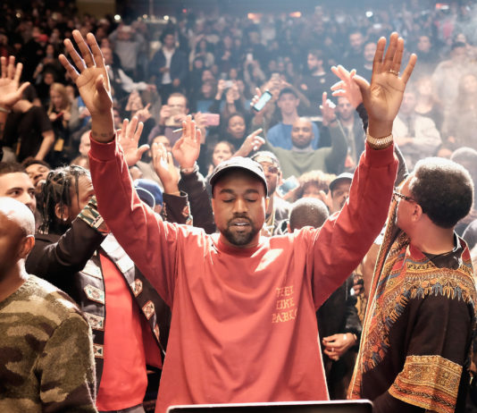 Kanye West at Yeezy Season 3, Radio UTD does not own the rights to this image and solely use it for the promotion of musical discussion