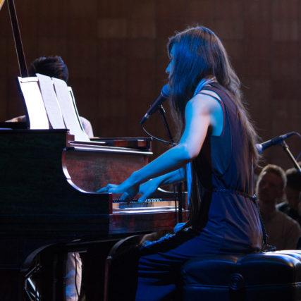 Julia Holter @ Marfa Myths 3/11/17 - photo by Demir Candas