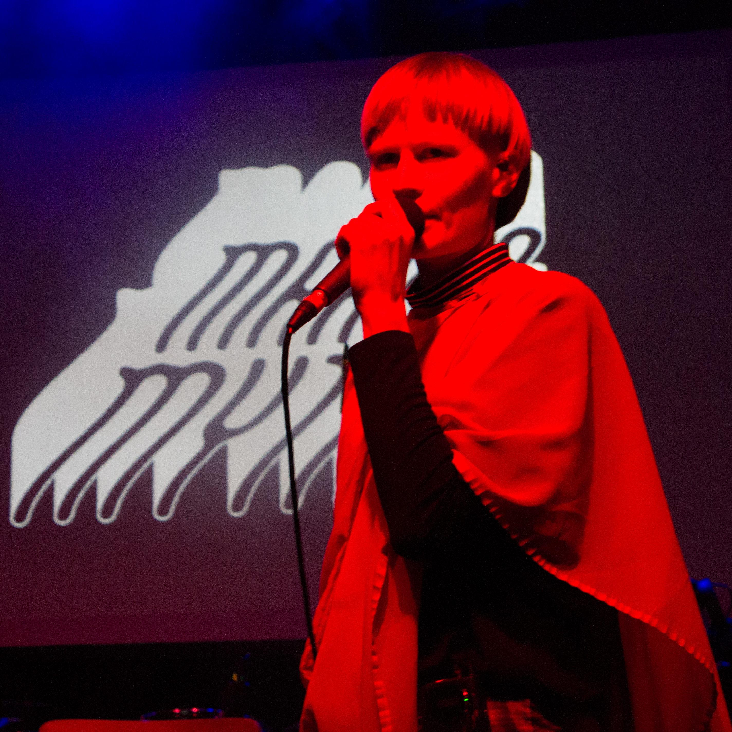 Jenny Hval @ Marfa Myths 3/11/17 - photo by Demir Candas