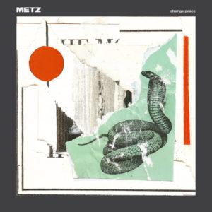METZ - Strange Peace cover