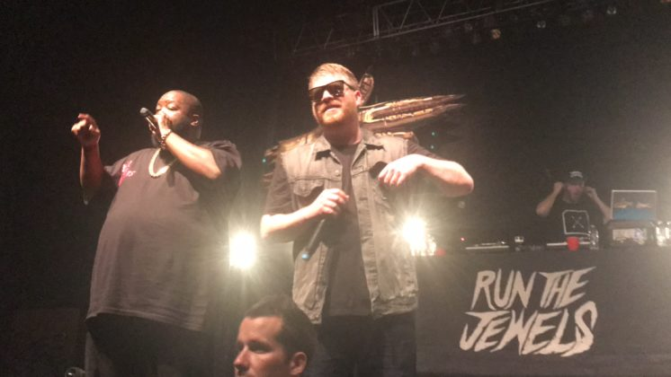Run The Jewels at South Side Ballroom on 10/18/17