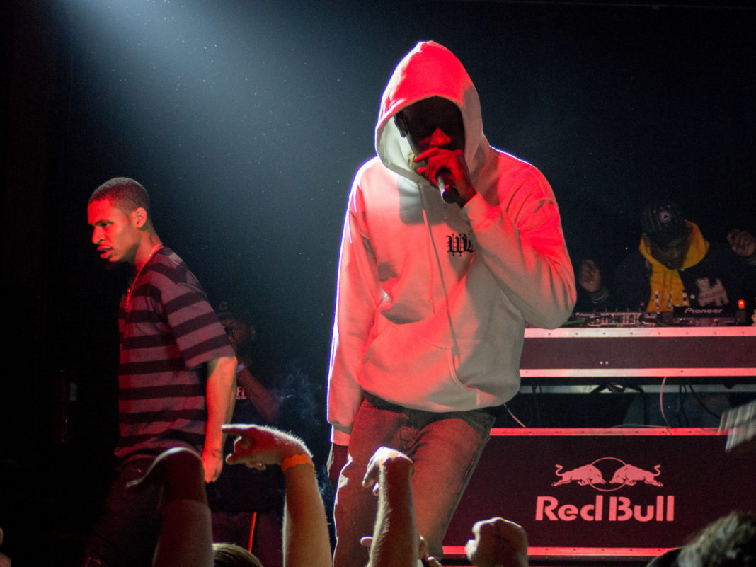 The Underachievers at Trees on 11/7/17 photos by Roman Soriano