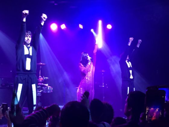 Yelle at Curtain Club on 11/10/17