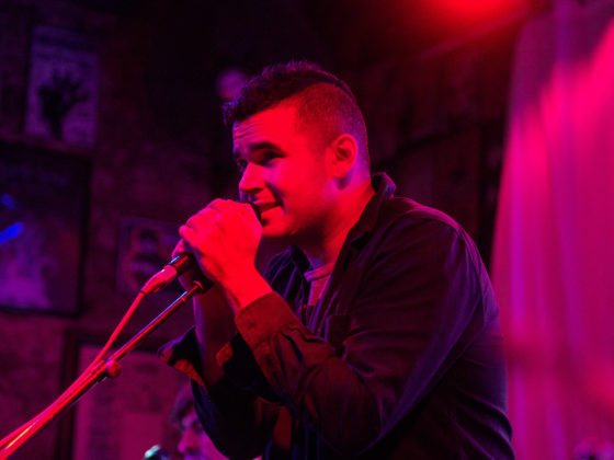 Rostam at Three Link on 4/6/18 photos by Roman Soriano